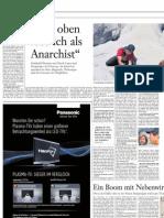 Frankfurter Allgemeine Zeitung, 15. November 2009