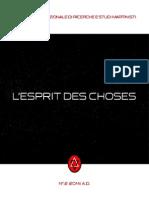 Esprit des Choses N°_2_2014_A.D
