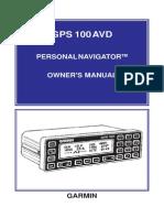 GPS100AVD_Owners Manual
