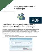 Traducir Los Mensajes Que Enviamos y Recibimos en El Messenger 2426 Kgrhye
