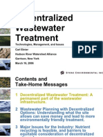 Waste Water Treatment Plant Descentralized