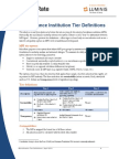 MicroRate White Paper Microfinance Institution Tier Definitions