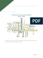 Global Process Automation Market (2013 – 2018)