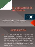 Control Automático de Frecuencia (Ppt)