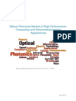 Silicon Photonics Market in High Performance Computing and Telecommunications Applications