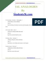 Verbal Analogies6 Qa-students3k.com