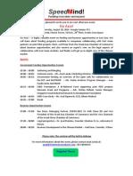 Go Asia! - SpeedMind Event 28.8.2014, Google Campus TLV