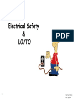Electrical Safety and LO_TO