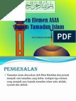 elemen asas Tamadun Islam