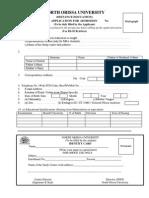 Application Form,DDCE,2014 15