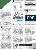 Boletim Informativo - 07 de dezembro de 2009