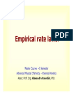 Empirical Rate Laws [Compatibility Mode]
