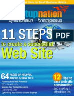 11 Steps to Create a Successful Website eBook
