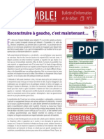 Ensemble - Le Bulletin - Numero 3