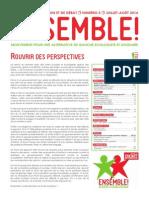 Ensemble - Le Bulletin - Numero 5 - Juillet-Aout 2014