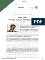 Perspectivas Relações Trabalho Século 21-ESPAÇO COOPERATIVAS TRABALHO
