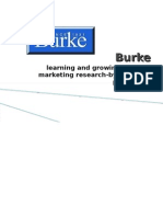 Marketing Reserch Burke-prashant priyadarshi
