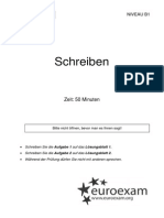 40 Schreiben EuroB1 Aufgabenblatt