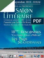 Brochure 2014 Fuveau salon littéraire
