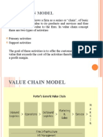 Value Chain Model BY Ankur mittal