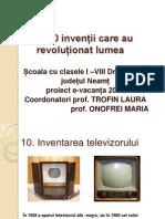 Draganesti Inventii Care Au Revolutionat Lumea