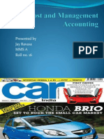 Car Costing