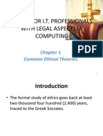Common Ethical Theories in Code of Ethics