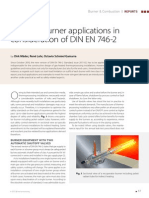 Practical Burner Applications of DIN en 746-2