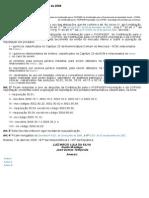 Decreto Nº 6.246 Abril de 2008- PISCOFINS