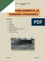 PROGRAMAS EMISIONES ATMOSFERICA