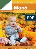 3975ddf70f Mini-Manó Babacentrum 2012-2013-as Bébiguru magazinja!