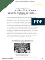 Cuando El Juez Felice Casson Reveló La Existencia de Gladio… , Por Daniele Ganser