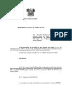 Decreto n 24.635 Conselho Acompanhamento Fundeb