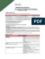 Bases Convocatoria Cas Nº 006-2014-2
