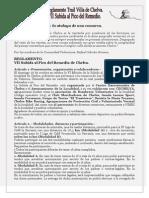 Reglamento VII Subida Pico Chelva