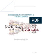 Global Hydraulic Fracturing & Services Market