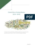 Global Micro-Printing Market (2013-2018)
