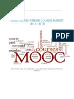 Massive Open Online Courses Market (2013 - 2018)