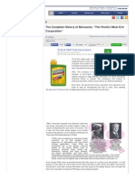 Www Globalresearch CA the Complete History of Monsanto the Worlds Most Evil Corporation 5387964