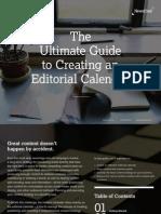 NewsCreds Guide to Editorial Calendars FINAL