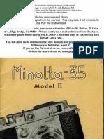 Minolta 35 Color