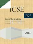 Luis Mesyngier - Parte 1 La Política Implicita