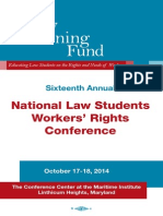 National Law Students Workers' Rights Conference