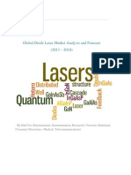 Global Diode Laser Market Analysis and Forecast (2013 – 2018)