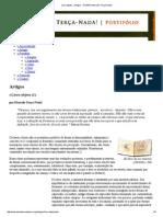Livro-objeto » Artigos » Portifólio Marcelo Terça-Nada!