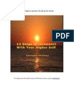 12 Steps To Reconnect With Your Higher Self