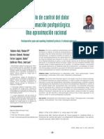 Protocolo de Dolor Despues de Cirugia