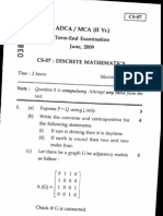 ADCA / MCe (II Yr.) Term-EndExamination