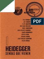 Heidegger Sendas Que Vienen I