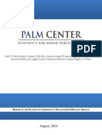 Palm Center Report on Transgender Military Service